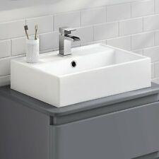 Designer Elisa Counter Top Wall Hung Rectangular Sink wash basin Sit On Basin