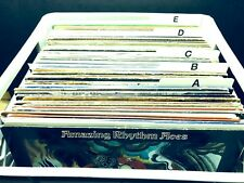 "A - Z Horizontal Record Dividers w/ Letters on Both Sides Index 12"" LP Vinyl"