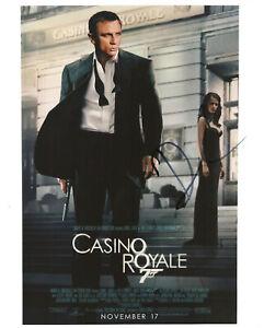 DANIEL CRAIG James Bond Casino Royale original Autogramm signiertes Großfoto Coa