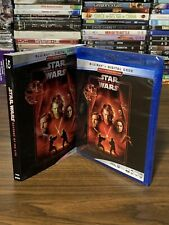 Star Wars Revenge Of The Sith Pg 13 Rated Blu Ray Discs For Sale In Stock Ebay