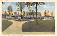 Winona Lake Indiana~Split Pathway Near Tabernacle @ Bethany Girls Camp~Lake 1922