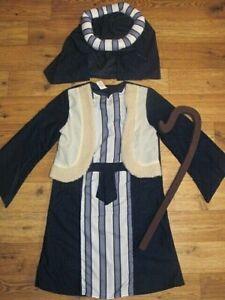 BNWT BOYS XMAS NATIVITY PLAY SHEPHERD OUTFIT DRESSING UP SIZE AGE 3 4 5 6 7 YRS