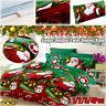 US Santa Duvet Cover Bedding Set Pillowcase Single Twin Double Queen King