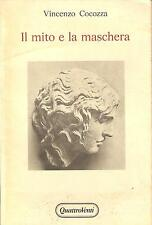 (Philosophy) Vincenzo cocozza-Myth and the Mask (Death of art in Hegel)
