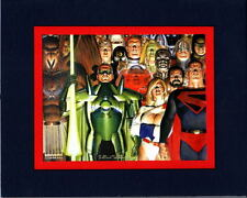 Alex Ross KINGDOM COME Professionally Matted PRINT