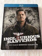 Inglorious Bastards Blu Ray Steelbook Like New 2 Disc Set RARE OOP Brad Pitt