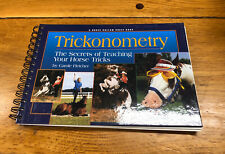 Trickonometry : The Secrets Of Teaching 00006000  Your Horse Tricks By Carole Fletcher New