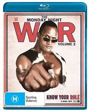 WWE - Monday Night War - Know Your Role : Vol 2 (Blu-ray, 2015, 3-Disc Set)Reg B
