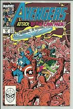 The Avengers #305 July 1989 KEY John Byrne Script Begins! Sharp FN/VF Condition