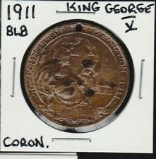1911 BLB King George V/Queen Mary Coronation Medal