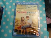Salmon Fishing in the Yemen DVD (2012) Emily Blunt, Hallström (DIR) new,free p+p