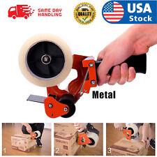 Heavy Duty Tape Gun Dispenser Packing Machine Shipping Grip Sealing Roll Cutter