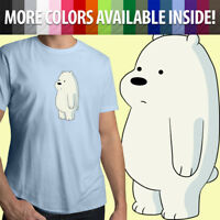 We Bare Bears Baby Ice Bear Cub Cartoon Kawaii Cute Unisex Mens Tee Crew T-Shirt