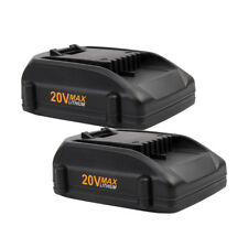 2PCS 20VOLT 2000mAh Li-ion Battery for WORX WA3520 WG151s WA3525 WG155s WG255