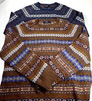 J.Crew Mens XL 2 Pack Of 100% Lambswool Sweater