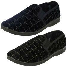 Mens Spot On Slip on Casual 'Slipper Shoes'