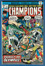 THE CHAMPIONS  # 3 - 1976 Marvel (fn-vf) Hercules  Ghost Rider  Black Widow