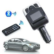 Bluetooth Car Kit FM Transmitter MP3 USB Charger Handsfree for iPhone Samsung X♡