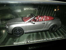 1:43 Minichamps Bentley Continental Supersports Cabrio 2010 n. 436139970 OVP
