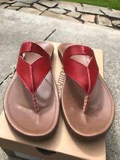 New Women's OluKai Lala Paprika/Tan Sandal Sz 11