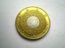 NORDIC GOLD COMMEMORATIVE 2 ZLOTE COIN FROM POLAND 2000-AUNC