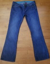 Guess Women's Foay Flare Leg Stretch Jeans Medium Wash Size 31
