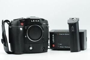 Leica R8 SLR Camera Body Black with Motor-Winder R8 #822