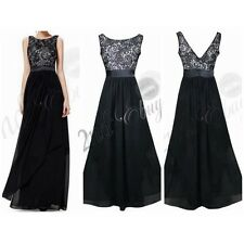 Women Formal Prom Long Cocktail Party Ball Gown Evenings Bridesmaid Dress 3XL