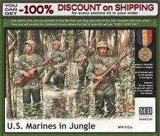 Master Box 3589 U.S. Marines in Jungle, WWII Era 4 Figures Scale 1/35