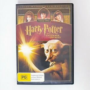 Harry Potter And The Chamber Of Secrets Movie DVD Region 4 AUS Free Postage