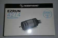 HOBBYWING EZRUN 1/8TH 4274 2200KV SENSORLESS BRUSHLESS MOTOR