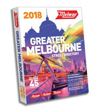 Melway 2018 Melbourne Street Directory Edition 45