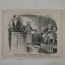 """7x10"""" stanze cartoon 1864 brutal assault wieder einen monat lang"""
