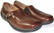 Klogs, Brown Leather Clogs, Loafers, Women's Size 10 M