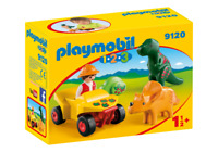 Playmobil 9120 - Explorer with Dinos - NEW!!