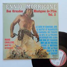 """Vinyle 33T Mario cavallero and his orchestra   """"Ennio Morricone... vol.2"""""""
