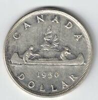 CANADA 1950 FWL VOYAGEUR SILVER DOLLAR KING GEORGE VI CANADIAN SILVER COIN