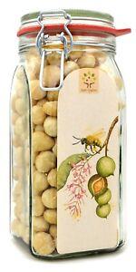 Bio-Macadamia-Nüsse, Style 1, Vorratsglas, 800g