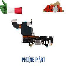 DOCK CONNETTORE RICARICA IPHONE 6S 4,7 BIANCO  MICROFONO JACK CUFFIE  FLEX FLAT