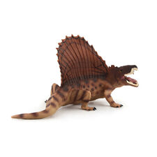 "Jurassic Realistic Dimetrodon Dinosaur 6.7"" inch Long Figure For Kids Gift Toy"