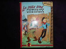 Les aventures de Jim l'astucieux-La ville sans chevaux-EO-Bon état-1961-N°1.