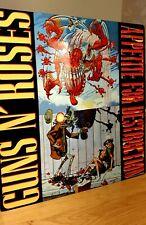 More details for guns 'n' roses appetite for destruction 12x12 inch metal sign