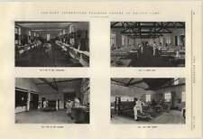 1924 aviones de entrenamiento aprendices Halton Camp 4 dormitorios Cocinas Comedor