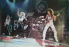80's VAN HALEN Band  STAGE  POSTER