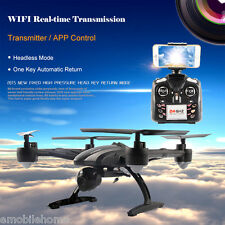 JXD 509W WIFI FPV 480P CAM 2.4GHz Phone Control 4 Channel 6-Axis Gyro Quadcopter