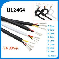 Multi Core PVC Cable 24 AWG 2/3/4/5/6/7/8/9/10 Core Signal Flexible Copper Wire