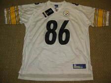 Hines Ward Pittsburgh Steelers White Men's XL Reebok Replica Jersey