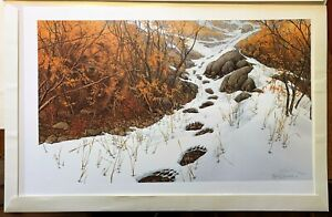 Bev Doolittle Doubled Back Limited Edition Print Signed 7426/15000 With Sleeve