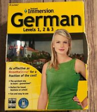 Instant Immersion German Levels 1, 2, & 3