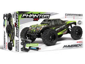 HPI Maverick PHANTOM XT Ready To Run 1:10 RC Monster Truck RTR Complete Package